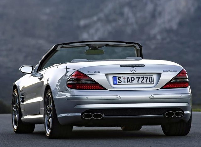 2007 Mercedes-Benz SL #19