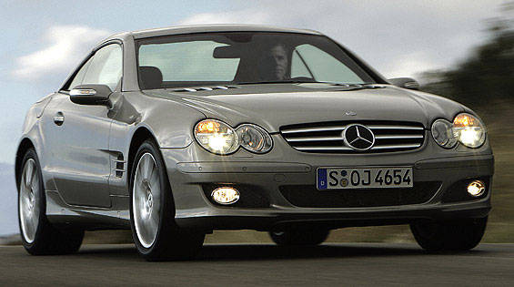 2007 Mercedes-Benz SL #21