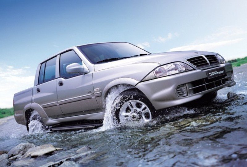 2007 Ssangyong Musso #18