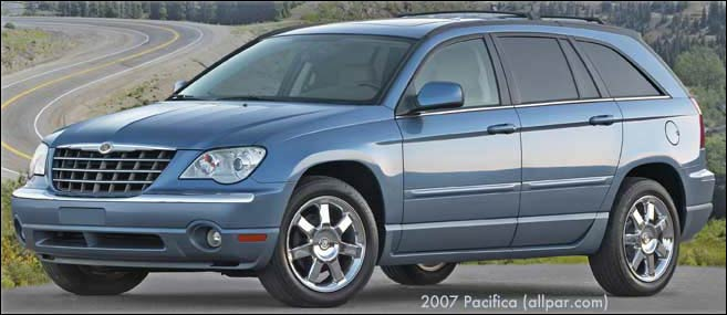 2008 Chrysler Pacifica #16