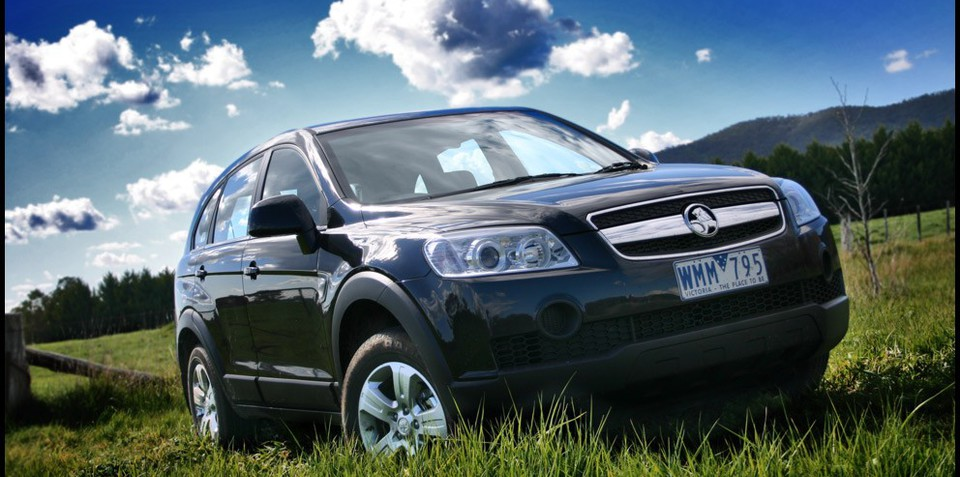 2008 Holden Captiva #20