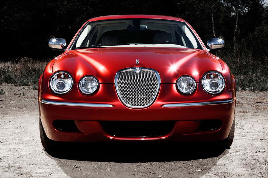 2008 Jaguar S-type #17