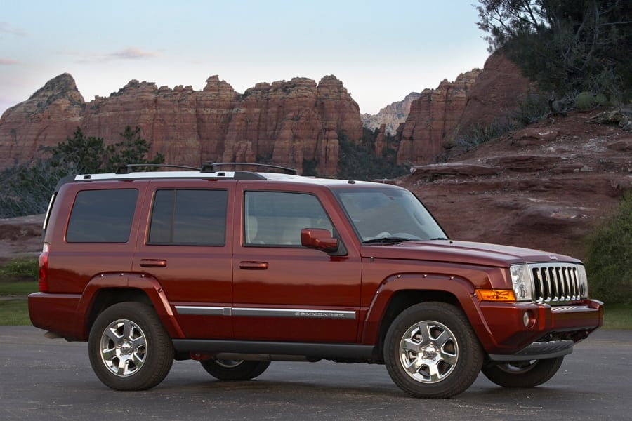 2008 Jeep Commander #17