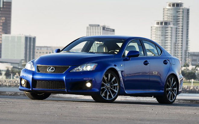 2008 Lexus Is F #12