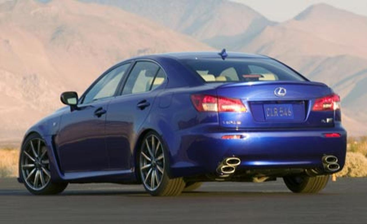 2008 Lexus Is F #15