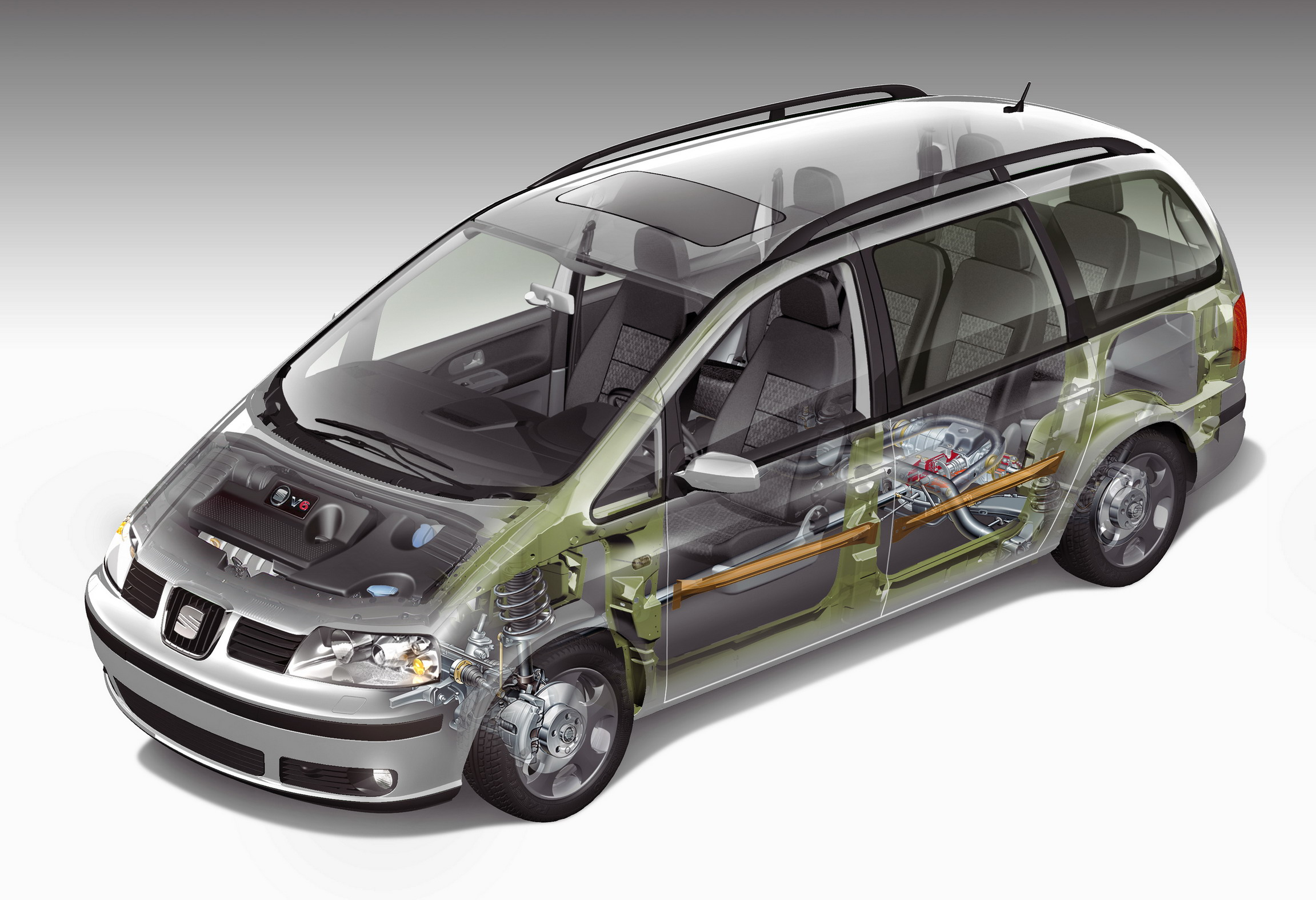 2008 seat alhambra photos informations articles. Black Bedroom Furniture Sets. Home Design Ideas