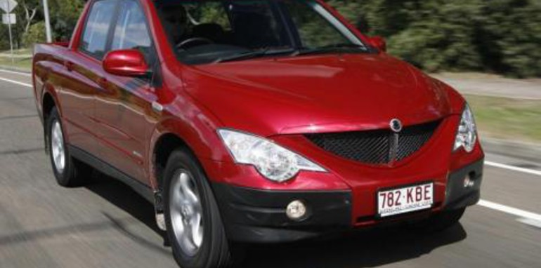 2008 Ssangyong Actyon #19