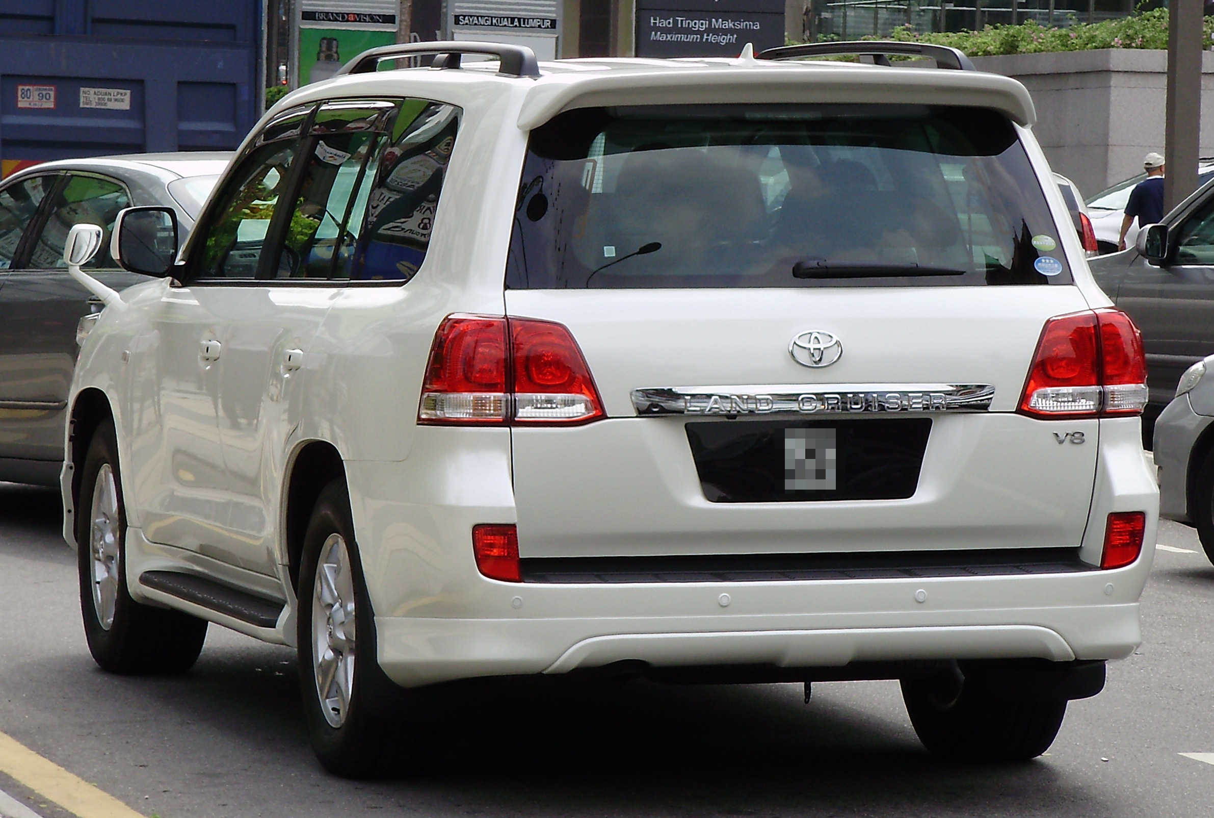2008 Toyota Land Cruiser #20