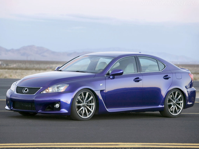 2009 Lexus Is F #19