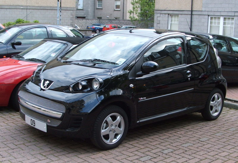 2009 peugeot 107 photos informations articles. Black Bedroom Furniture Sets. Home Design Ideas