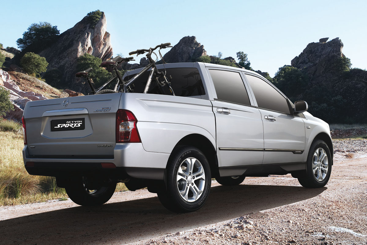 2009 Ssangyong Actyon #19