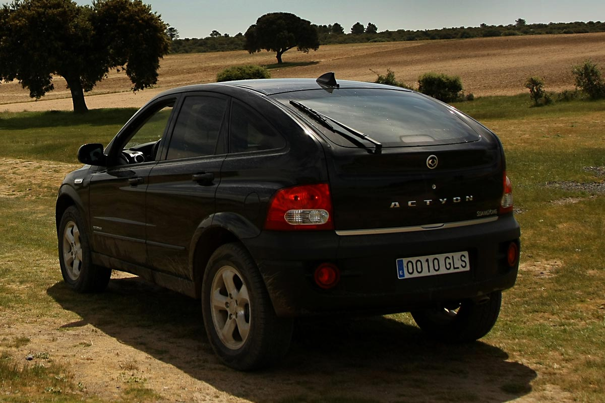 2009 Ssangyong Actyon #20