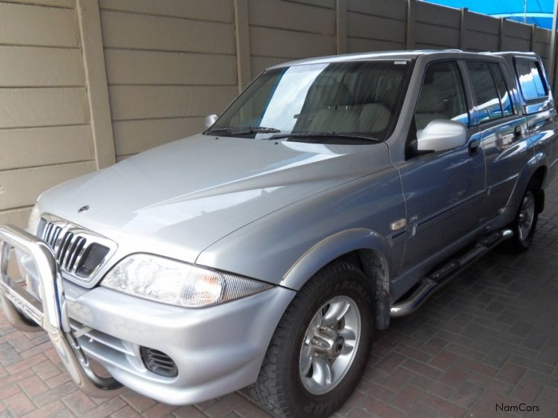2009 Ssangyong Musso #16