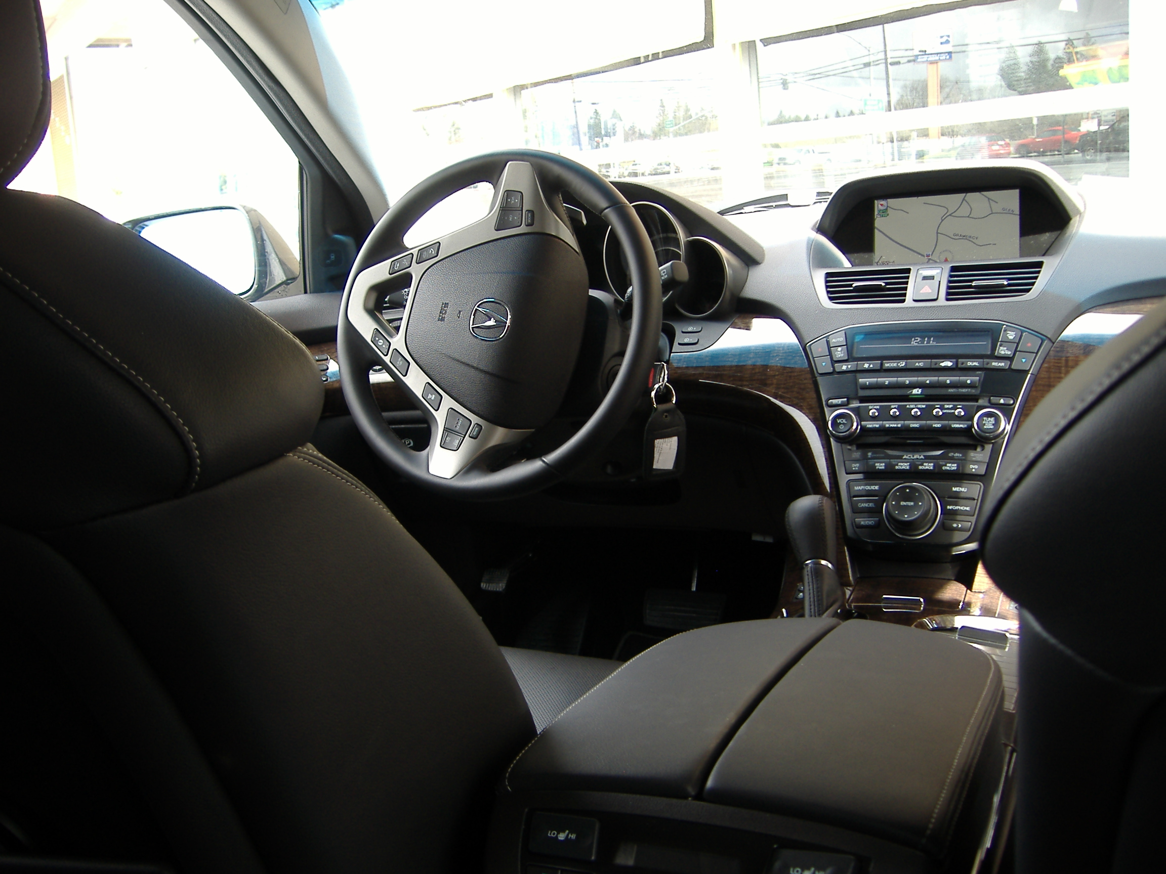 acura car mdx seat side lady row vehicles suv the