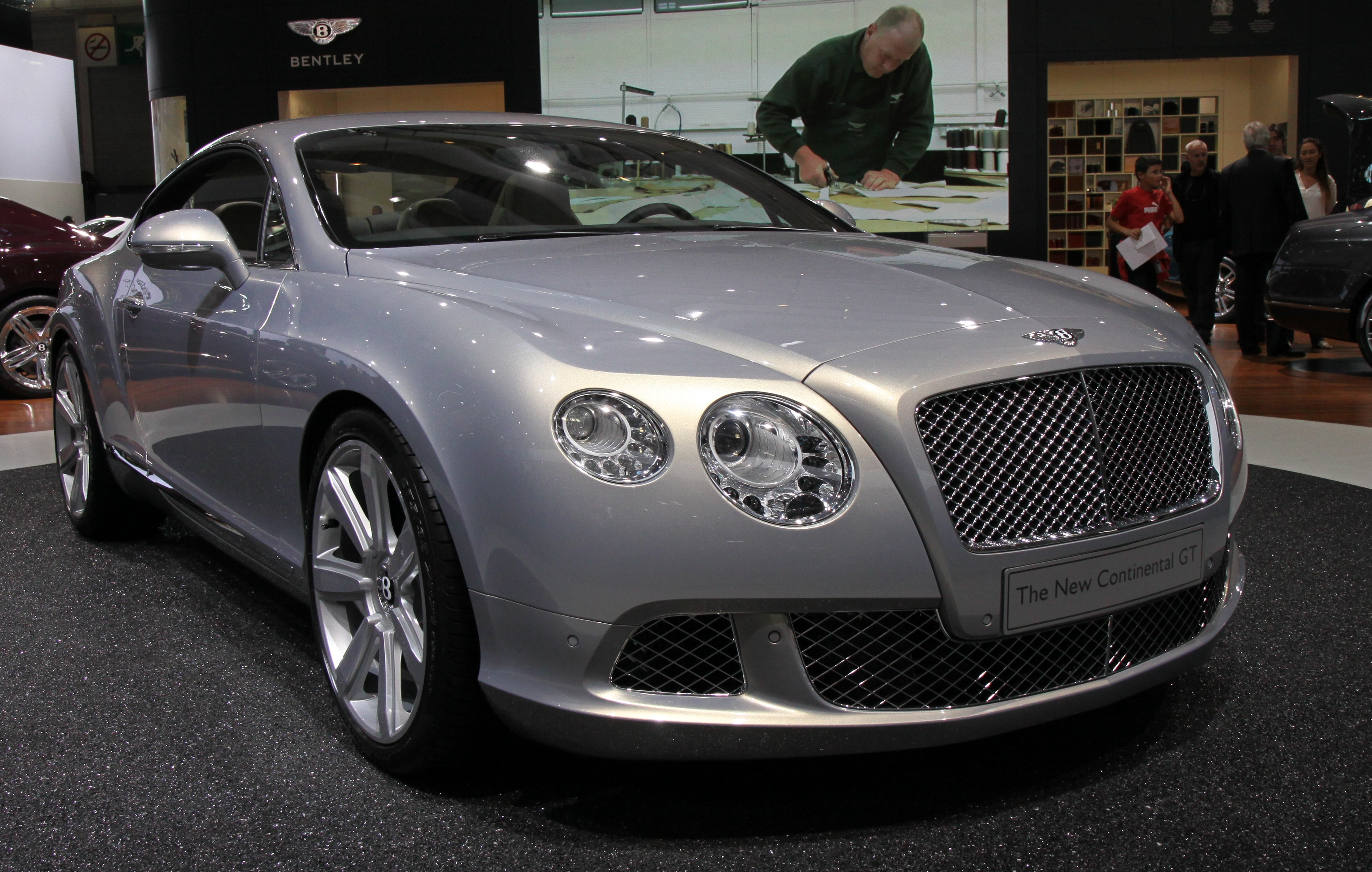 2010 Bentley Continental Gt #22