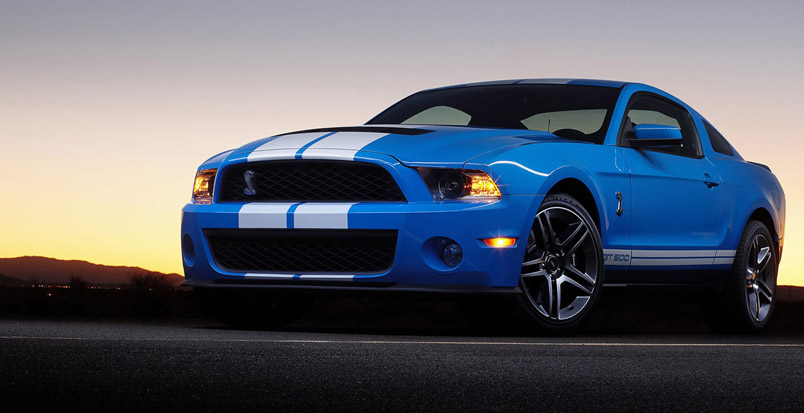 2010 Ford Shelby Gt500 #24