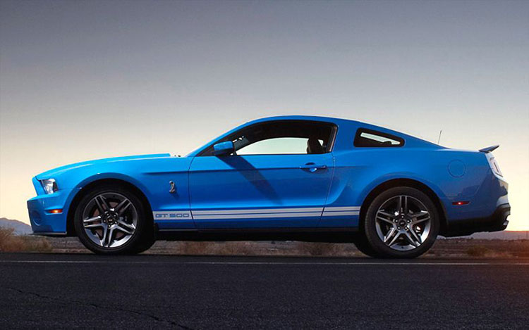 2010 Ford Shelby Gt500 #25