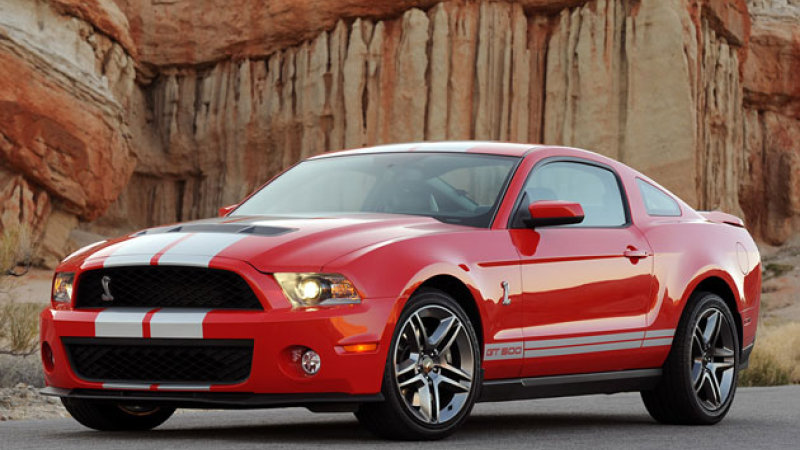 2010 Ford Shelby Gt500 #18