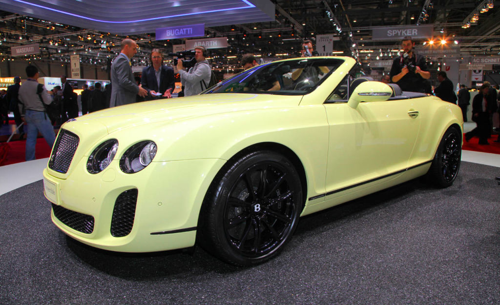 2011 Bentley Continental Supersports Convertible #21