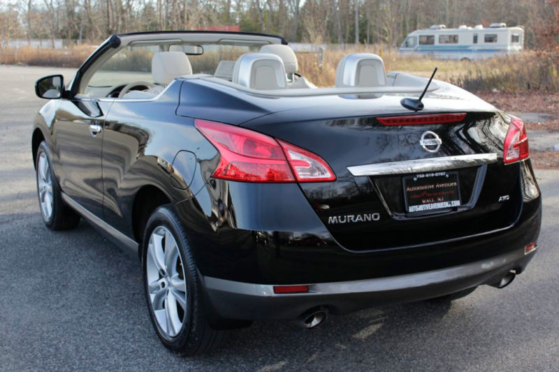2011 nissan murano crosscabriolet photos informations articles. Black Bedroom Furniture Sets. Home Design Ideas