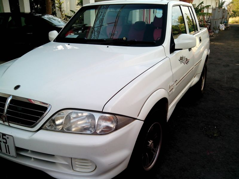 2011 Ssangyong Musso #18