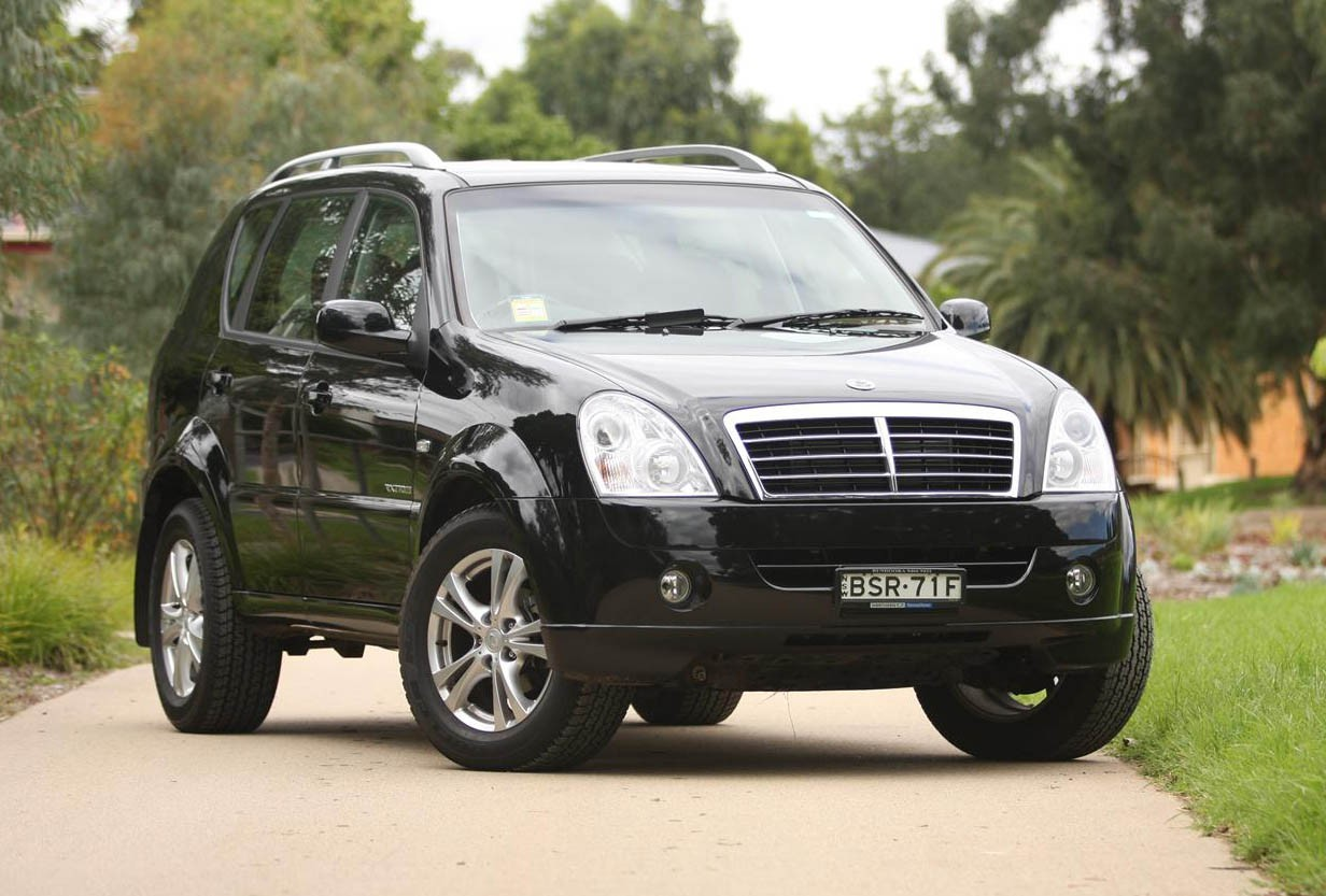 2011 Ssangyong Musso #17