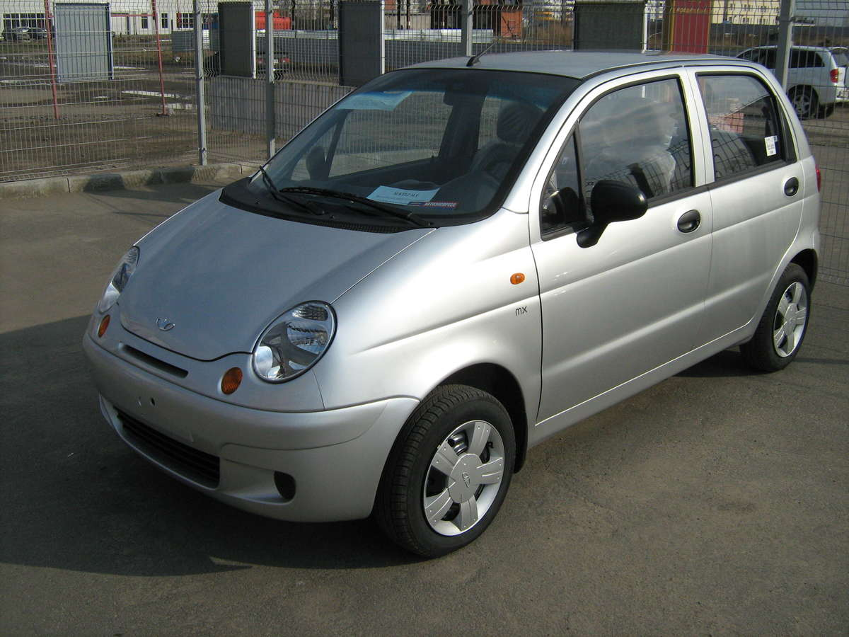 2012 daewoo matiz photos informations articles. Black Bedroom Furniture Sets. Home Design Ideas