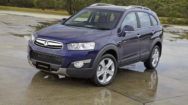 2012 Holden Captiva #14