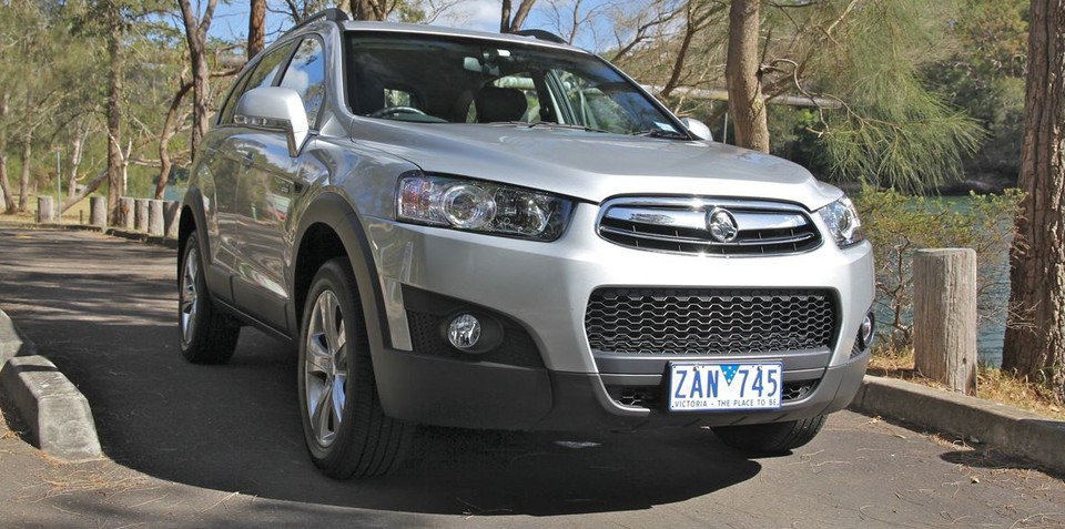 2012 Holden Captiva #17
