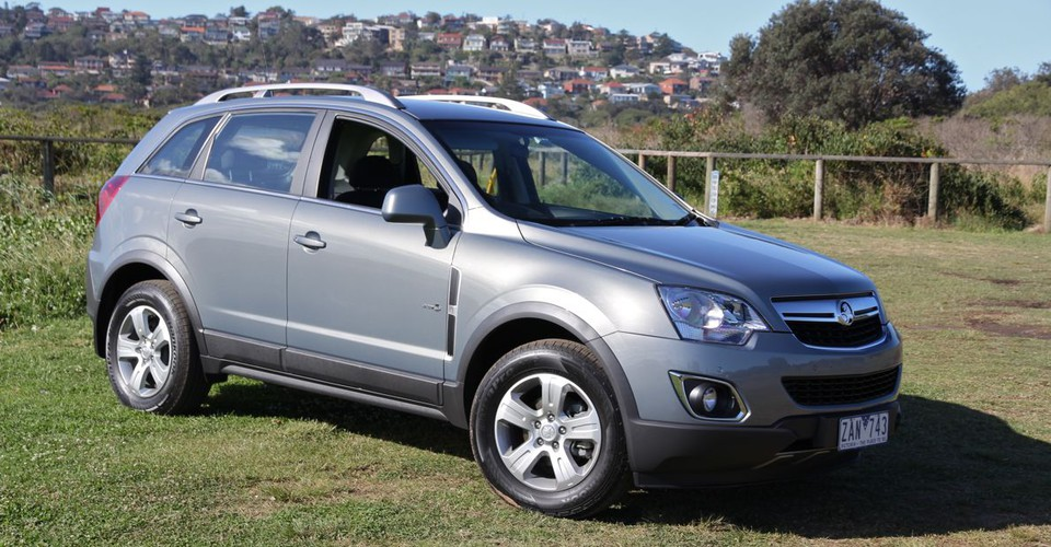 2012 Holden Captiva #18