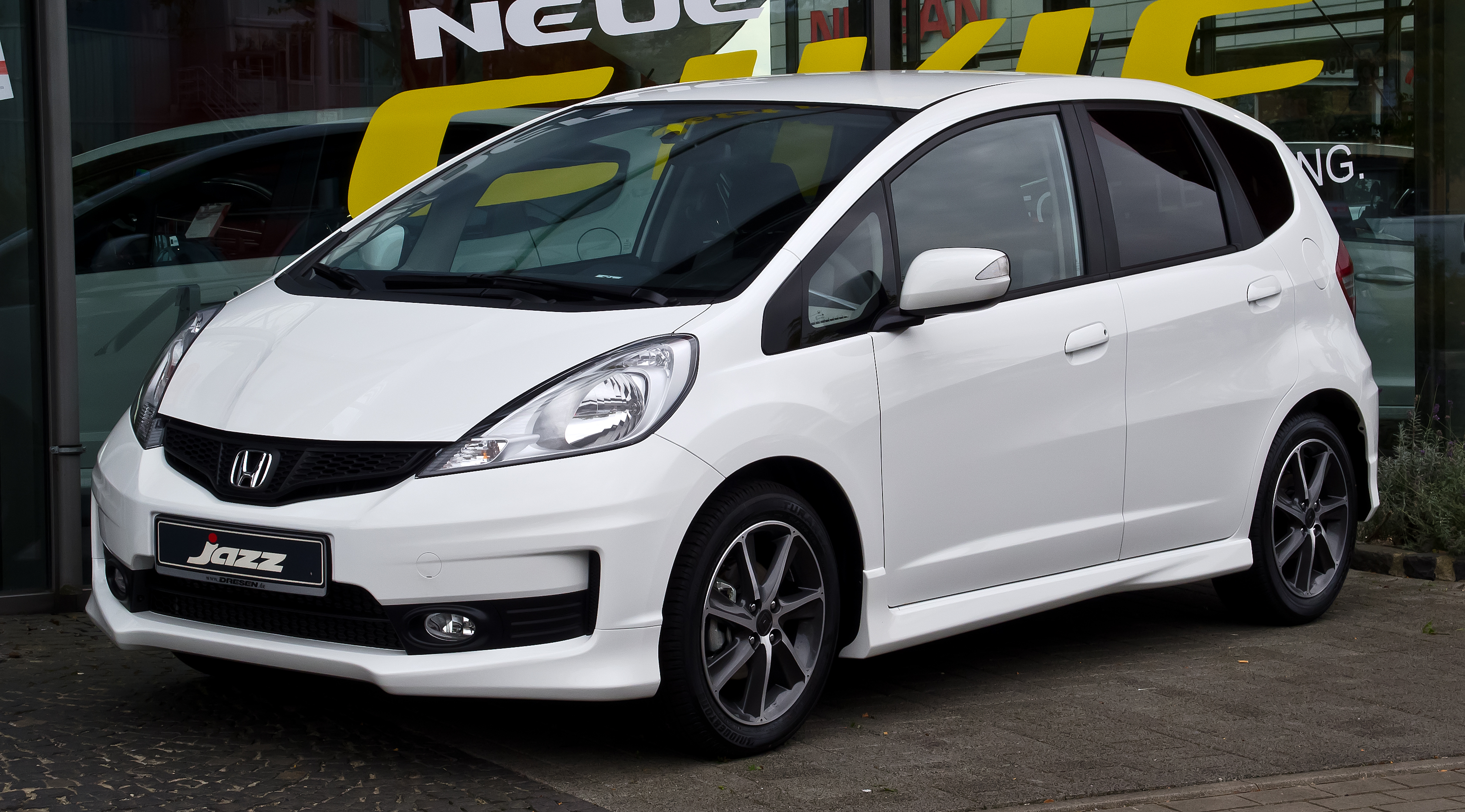 2012 Honda Jazz Photos Informations Articles