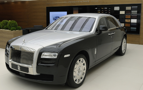 2012 Rolls royce Ghost #20