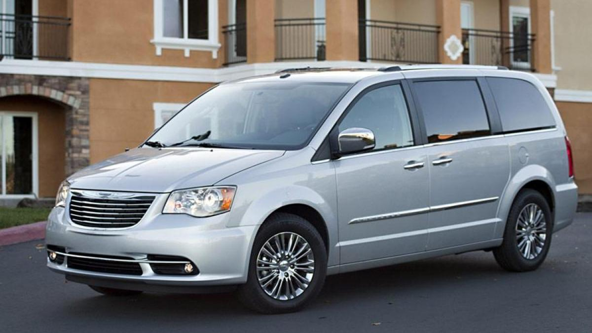 2017 Chrysler Town And Country 16