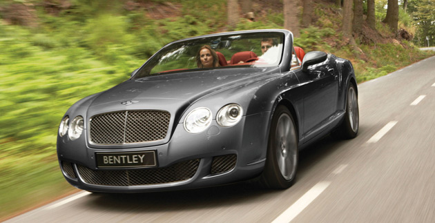 2010 Bentley Continental Gt #10