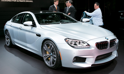 2014 Bmw 6 Series Gran Coupe #4