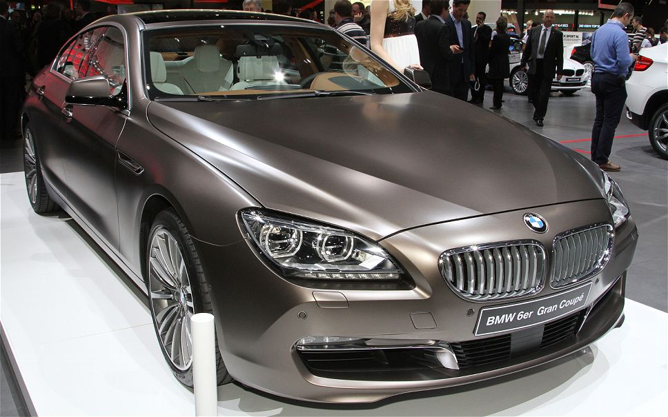 2014 Bmw 6 Series Gran Coupe #9