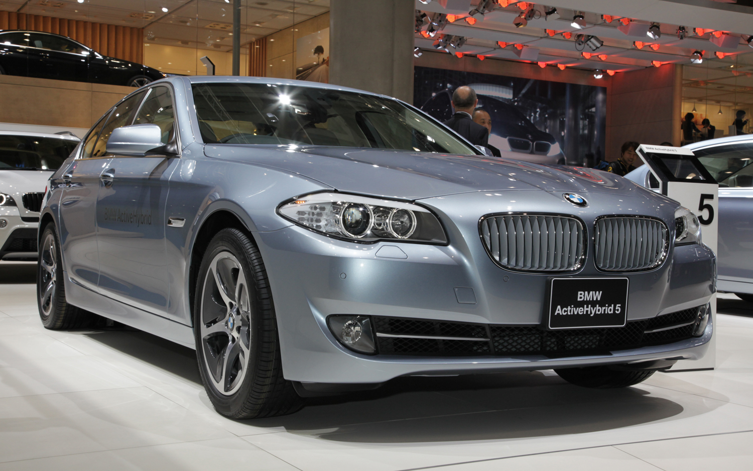 2014 Bmw Activehybrid 5 #11
