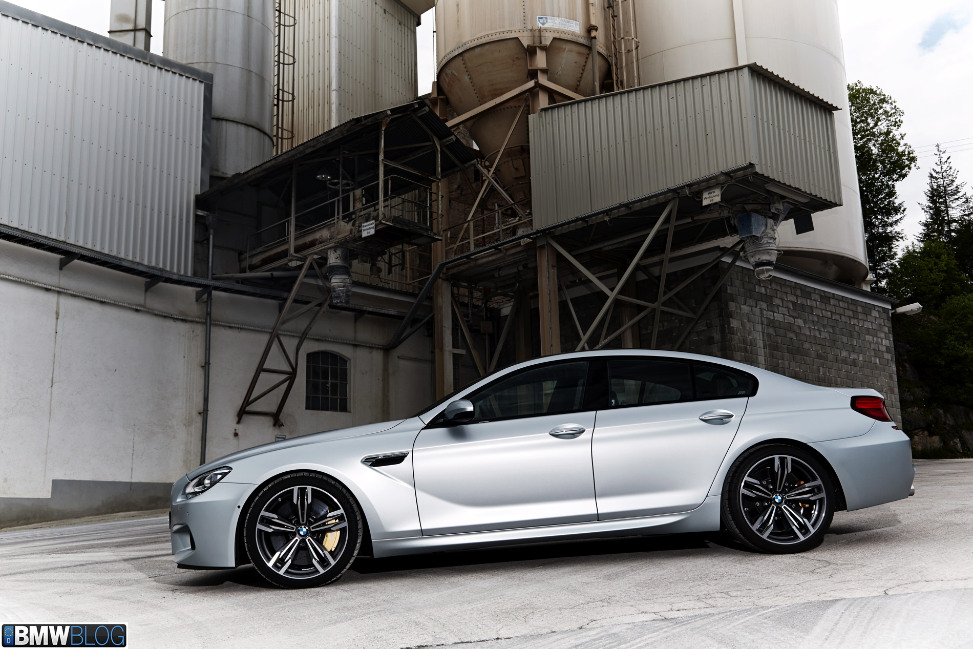 2014 Bmw M6 Gran Coupe 2
