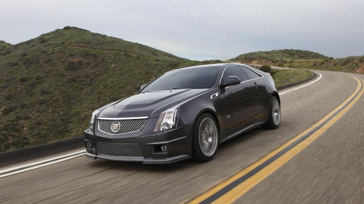 2014 cadillac cts v coupe photos informations articles. Black Bedroom Furniture Sets. Home Design Ideas