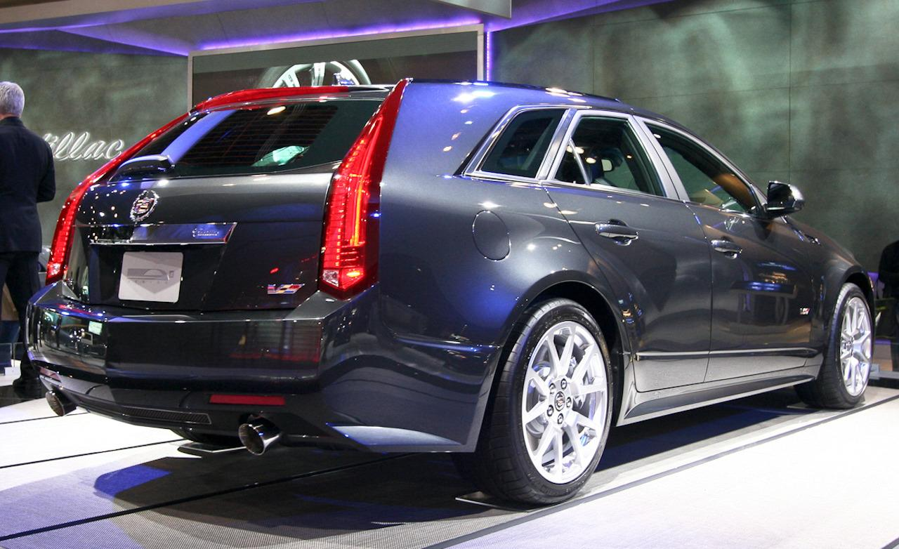 2014 cadillac cts v wagon photos informations articles. Black Bedroom Furniture Sets. Home Design Ideas