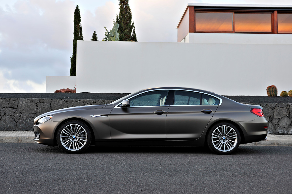 2015 Bmw 6 Series Gran Coupe #3