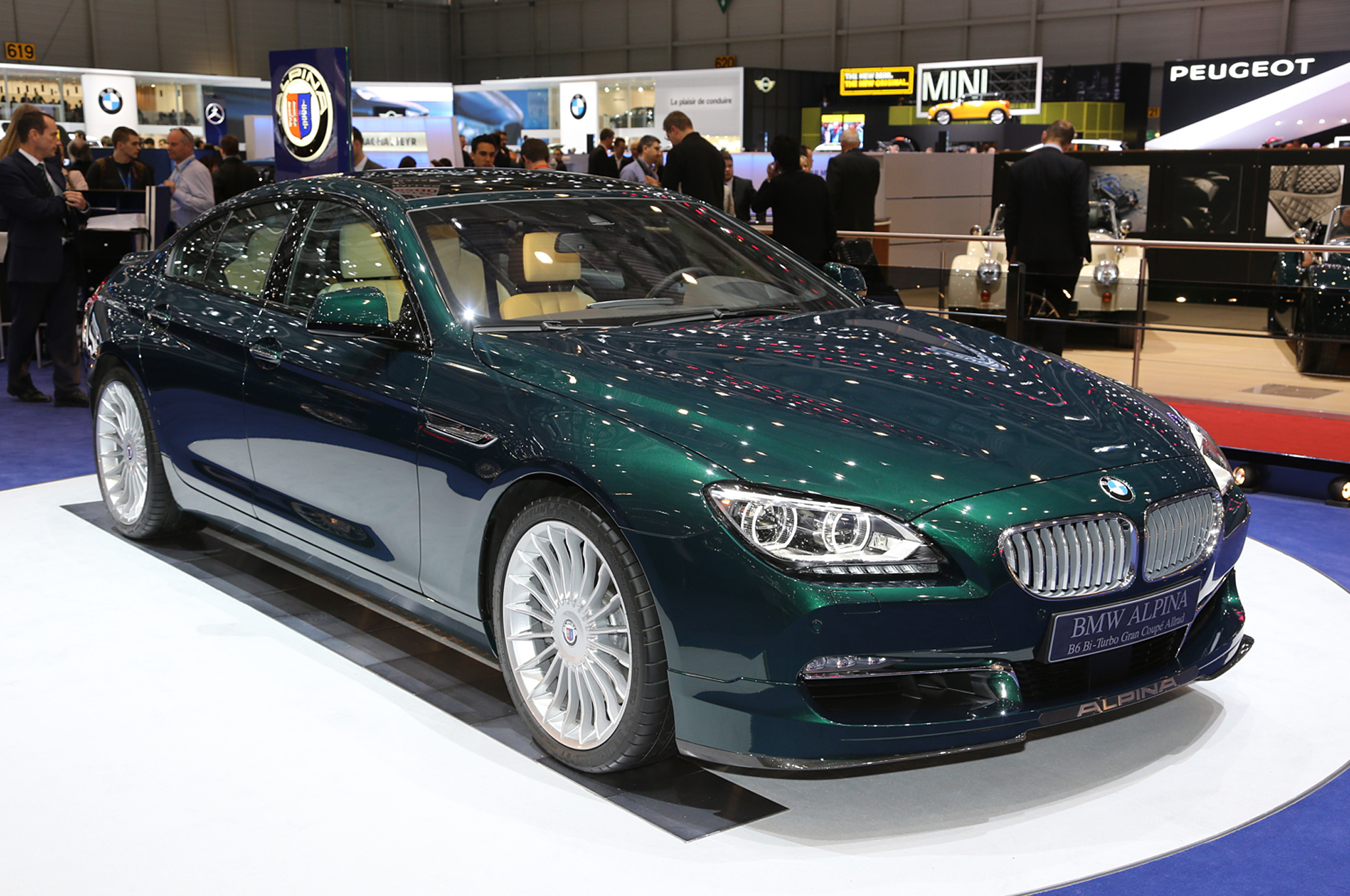 2015 Bmw Alpina B6 Gran Coupe #5