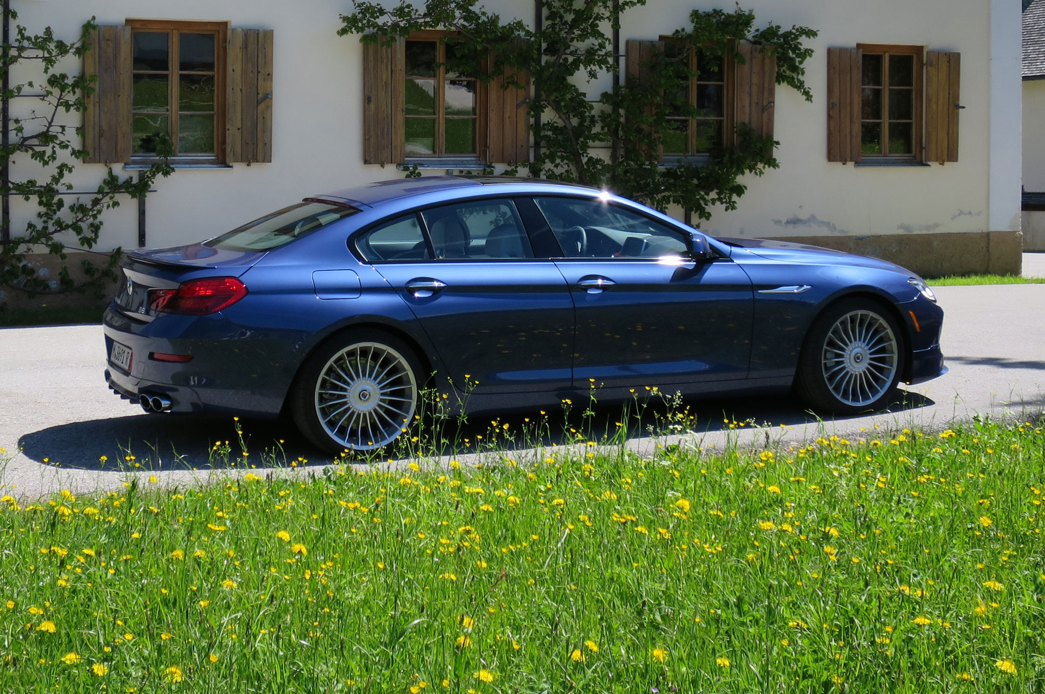2015 Bmw Alpina B6 Gran Coupe #11