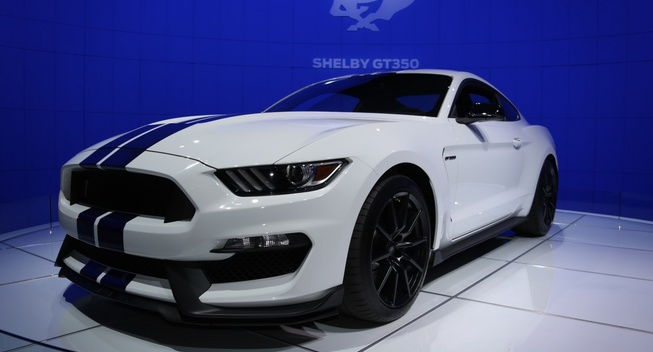2015 Ford Shelby Gt350 #8