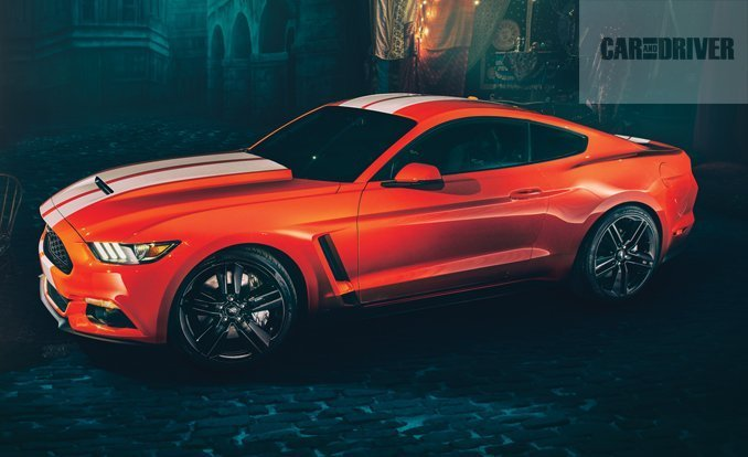 2015 Ford Shelby Gt350 #4