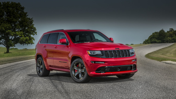 2015 Jeep Grand Cherokee Srt #20