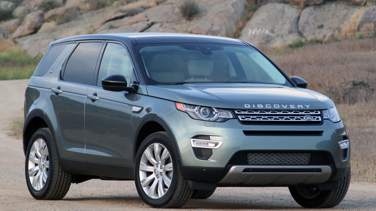 2015 Land Rover Discovery Sport #18