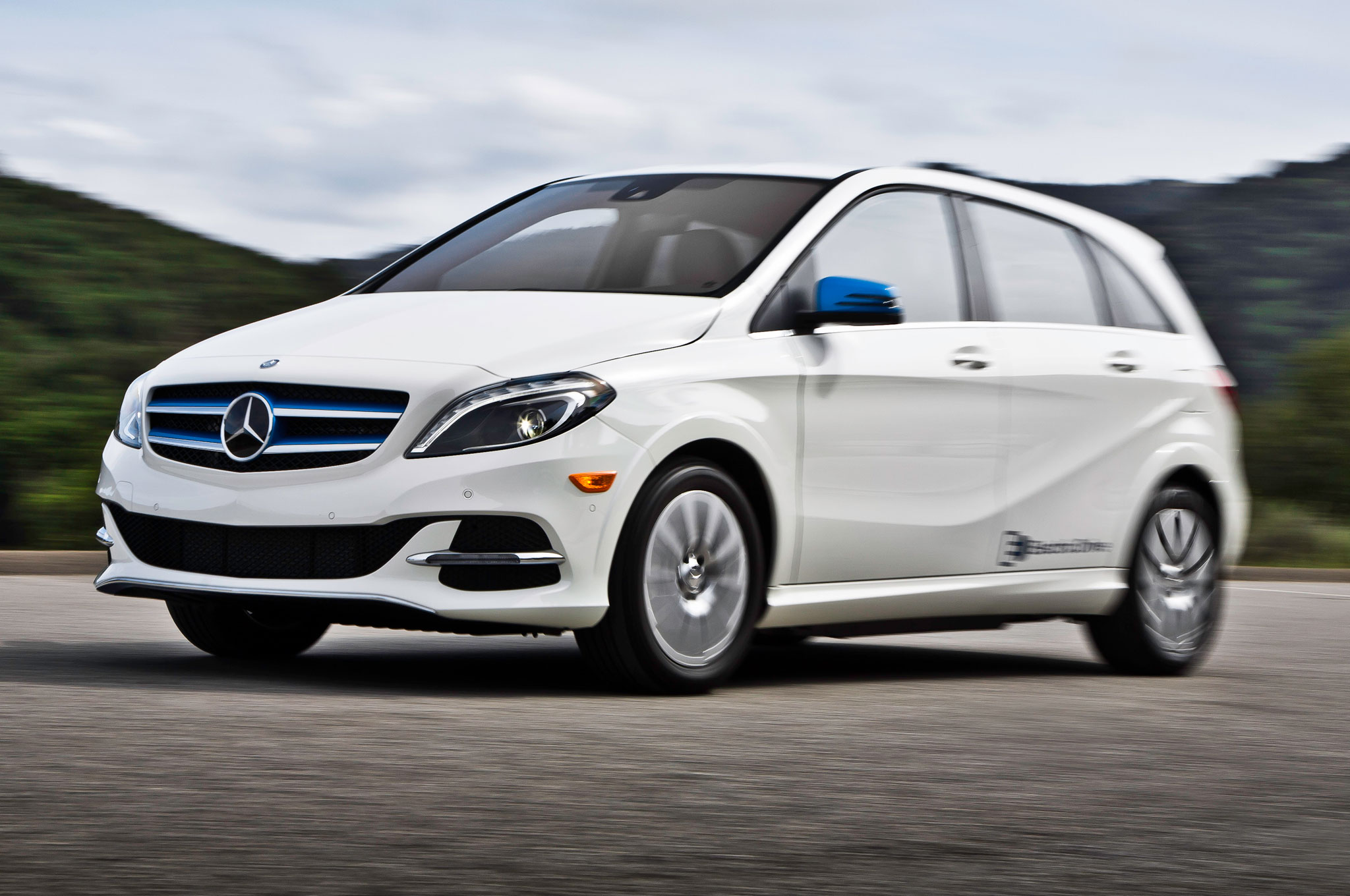 2017 Mercedes Benz B Cl Electric Drive 2