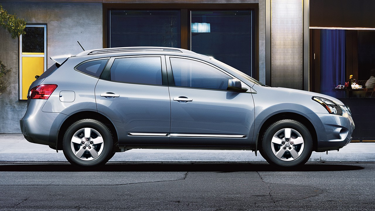nissan rogue review sv