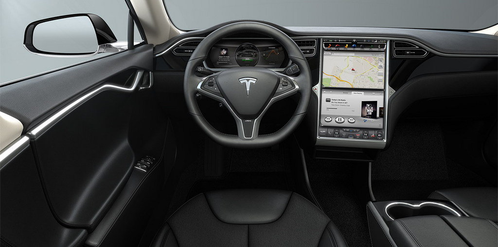 2015 tesla model s photos informations articles. Black Bedroom Furniture Sets. Home Design Ideas